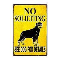 [Kelly 66]犬は、詳細のために犬を見ませんでした金属サイン錫ポスターホーム装飾バー壁アート塗装20 * 30 cmサイズY - 2203