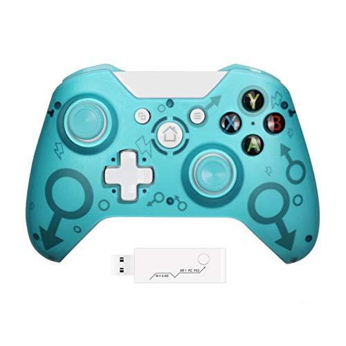 Mando inalámbrico para Xbox One, Usergaing Wireless PC Gamepad con adaptador de 2,4 GHZ, apto para consola Xbox One/One S/One X/P3/PC Windows 7/8/10