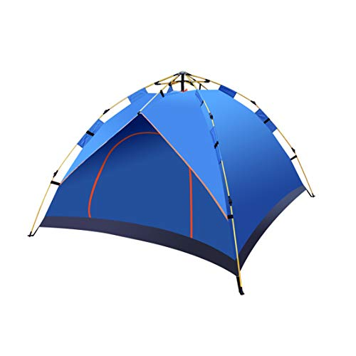 DIMAR GARDEN Automatic Instant Pop Up Tent,Waterproof Outdoor Rest for Camping,Traveling, Backpacking, Hiking, with Carrying Bag (Blue, 2 Person)