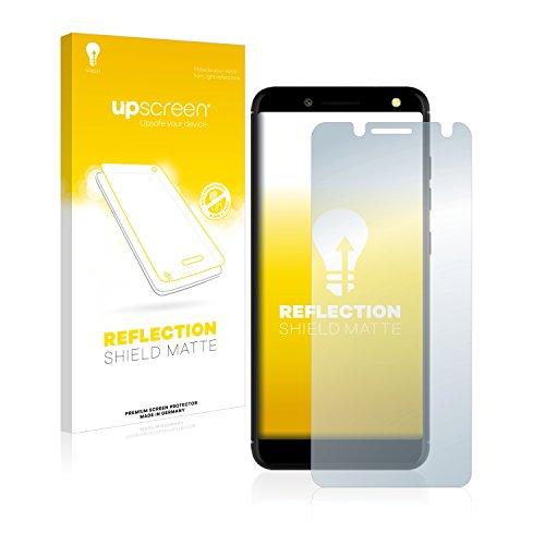 upscreen Entspiegelungs-Schutzfolie kompatibel mit BLU Vivo One – Anti-Reflex Bildschirmschutz-Folie Matt