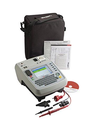 Megger 1000-751 PAT450-DE Gerätetester, Schutzleiterwiderstand mit 200 mA, 10 A und 25 A AC, Isolationsprüfung mit 250V und 500V, Ersatz-Ableitstrom