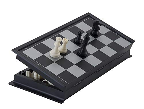 Engelhart - 200711-200712 - Juego de ajedrez magnético para Viajes (24 cm x 24 cm)