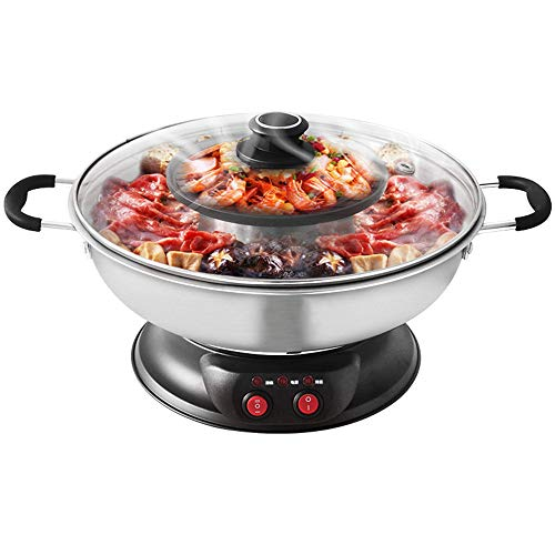 Buy Bargain Sonya Electric Shabu Shabu Hotpot with BBQ Grill SYHS-4L, Bonus 2 Strainer Ladles