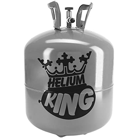 Helium King Helium Canister - 50 Balloon Helium Gas Cylinder