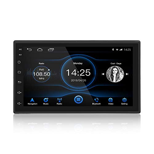 Ezonetronics 7 Zoll Android 8.1 Autoradio Stereo 1024x600 GPS-Navigation Bluetooth WiFi SWC USB-Spiegel Link Player 1G DDR3 + 16G NAND Memory Flash
