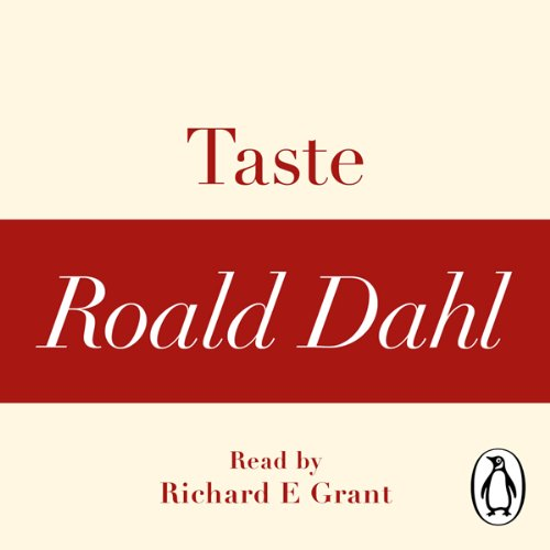 Taste (A Roald Dahl Short Story) audiobook cover art