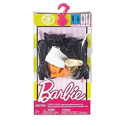 Mattel - Barbie - Accessori moda - FCR 92 - Collezione di scarpe Original & Petite Doll