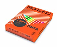 Fabriano f60421297–パック500枚のシート、a4、80g、オレンジ