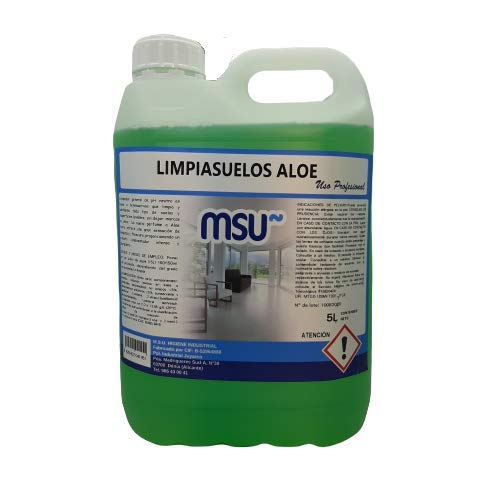MSU - Fregasuelos - Limpiasuelos Aloe Vera. Envase 5 Litros