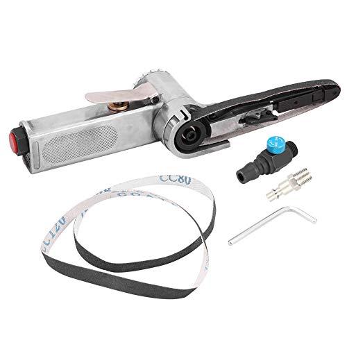 Lijadora de banda de aire, herramienta neumática de pulidora de lijadora de banda neumática de 10 mm