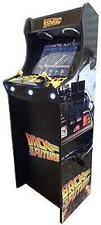 Máquina Arcade Lowboy Retro, máquina recreativa -Tamaño Real- Diseño Regreso al Futuro