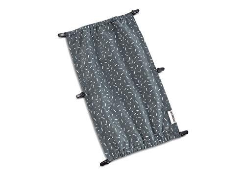Croozer Sonnenschutz für Kid Vaaya 1 Graphite Blue/White 2020 Fahrradanhänger