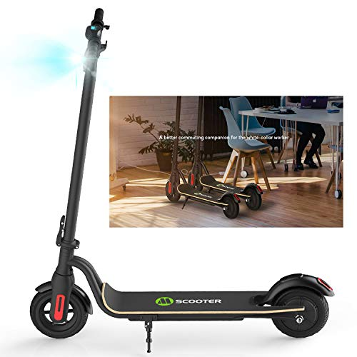HST Faltbarer Elektroroller 22 km Langstreckenbatterie, 250 W, bis zu 25 km/h, leicht Faltbarer und tragbarer E-Scooter für Kinder und Erwachsene