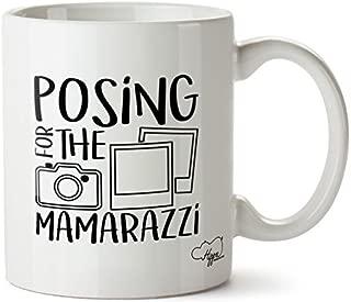 Valentine Herty Posing For The Mamarazzi printed mug cup ceramic 11oz