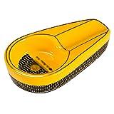 Portable Ashtrays Ceniceros Cenicero para Puros Cenicero portátil pequeño Extintor de Humo Creativo pequeño Diseño de Canal de Humo de Gran Calibre