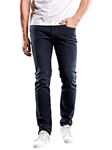 emilio adani Herren Jeans Basic Classic, 30051, Blau in Größe 33/32