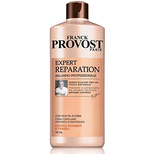 Franck Provost Balsamo Professionale Expert Reparation, Balsamo con Olio di Jojoba per Capelli Rinforzati e Riparati, 750 ml, Confezione da 1