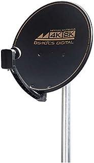 日本アンテナ 4K8K対応BS/110度CS アンテナセット(ブラックモデル) 45SRLSTB 2181853