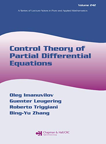 Control Theory of Partial Differential Equations (Lecture Notes in Pure and Applied Mathematics Book 241) (English Edition)