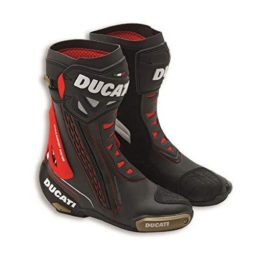 Ducati Corse C3 Racing-Stiefel TCX schwarz Größe 45