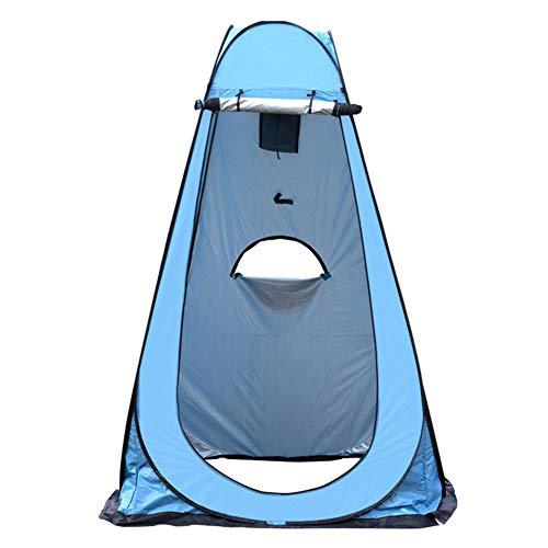 BaBa Tienda de Campaña Tent Portable Pop Up Tiendas Instantáneas Carpas Vestidor Vestuario Espacioso para Camping Playa Bosques Zonas de Aseo Carpas (Azul) 🔥