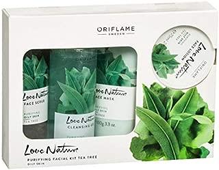 PLANET 007 Oriflame Sweden Love Nature Purifying Facial kit Tea Tree Oily Skin