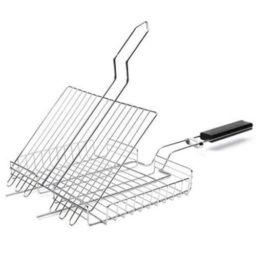 41lJfvuP8mL - SJYDQ NAZHIJINGKEJI Titan Grill im Freien Barbecue Net Picknick Grill Platte Küche Grill Zubehör Durable Küchenwerkzeug mit Griff