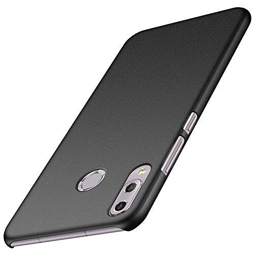 Asus Zenfone 5 ZE620KL Hülle, ZenFone 5Z ZS620KL Hülle, Anccer [Serie Matte] Elastische Schockabsorption & Ultra Thin Design (Kies Schwarz)