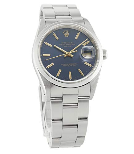 Rolex Oyster Perpetual Automatic-self-Wind Male Watch 115200 (Certified Pre-Owned)