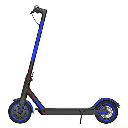 POHOVE Scooter Reflektierend Sticker Wasserfest Selbstklebend Reflektierend Aufkleber Für M365 / Pro/Für Xiao Mi 1S Scooter, Night Sichtbarkeit Sicherheit (Nur Reflektierend Sticker)