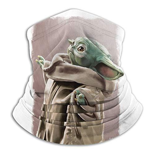 Baby Yoda (30) - Braga de cuello para invierno, máscara de esquí, bufanda térmica, pasamontañas para clima frío, para hombres y mujeres, ciclismo, correr, esquí