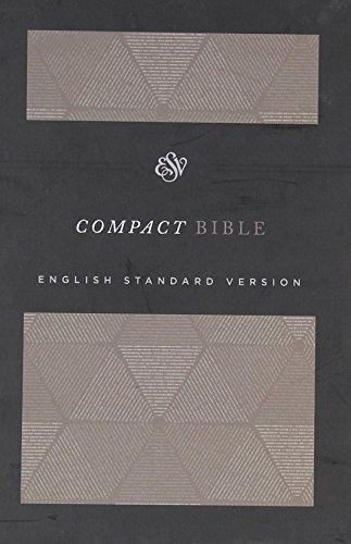 ESV Compact Bible (Cloth Over Board, Timeless)