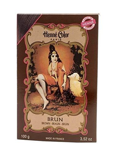 Henné Color Poudre Colorante Brun 100g
