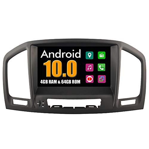 RoverOne Autoradio per Opel Insignia 2008 2009 2010 2011 con Multimedia Android Stereo GPS Navigation Radio Bluetooth Mirror Link