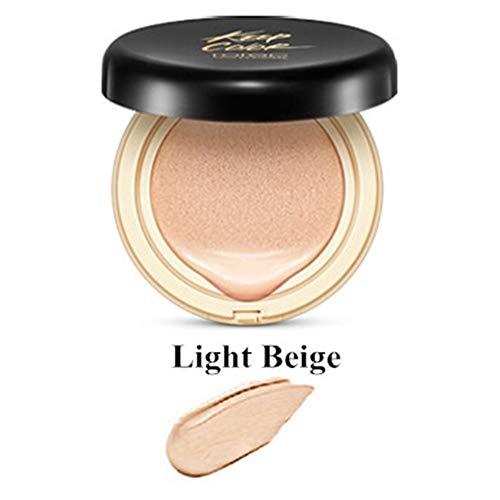 Yiwa Maquillage Air Cushion BB Crème Correcteur Hydratant Fond de Teint Blanchissant Sans Faille Maquillage Coussin BB Crème Couleur de peau claire