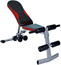 Marshal Fitness Exercise Bench with Dumbbell- Multi Color-BLi-79