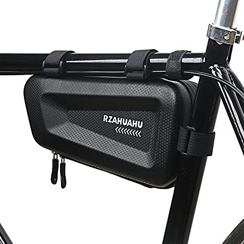 Lixada Waterproof Bicycle Frame Bag Cycling Bike Top Tube Bag MTB Mountain Bike Mobile Phone Bicycle Tools Storage Bag Pannier