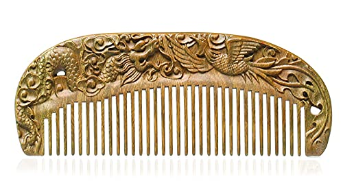 Comb Handmade Carved Scent Comb,Chine specialty shop Sandalwood Natural Popular popular Hair