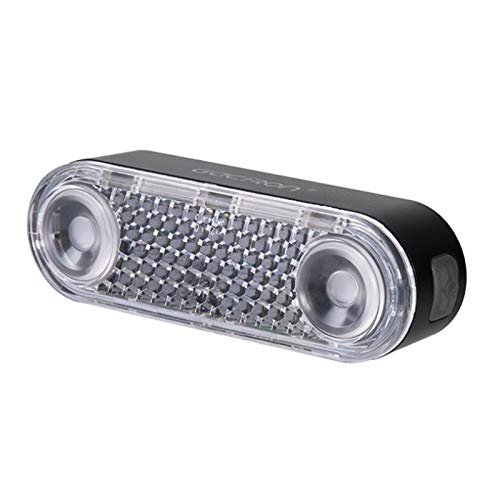 Smart Bike Tail Light, Ultra Bright Usb Rechargeable Bicycle Waterproof Taillights, 6 Light Mode, Comes With Reflector