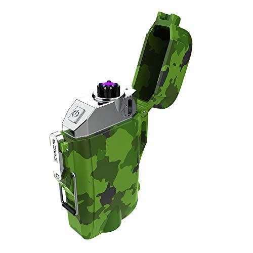 プラズマ ライター 電子 電気 usb ライター 小型 充電式 防風 軽量