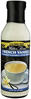 Walden Farms Naturally Flavored Calorie Free Coffee Creamer French Vanilla -- 12 fl oz - 2 pc