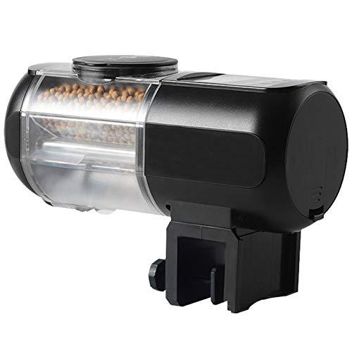 LY-Rack Alimentador automático Pescado Recargable Alimentador automático Peces Digital Alimentador Temporizador Tanque Acuario Dispensador Comida para Peces Vacaciones y Fines Semana