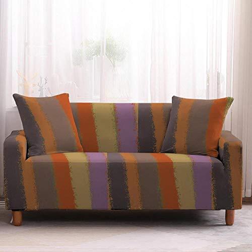Fundas de sofá geométricas para sofá, funda elástica para sillón, funda para sofá, protector de muebles, 1/2/3/4 plaza-1 plaza_color2