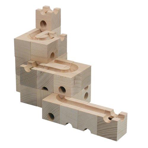 Cuboro 117 - cuboro base, 30 partes [importado de Alemania]