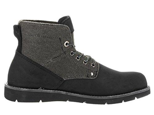 Levi's Men's Jax Hemp Black/Mono/Chrome Boot 10 Men US