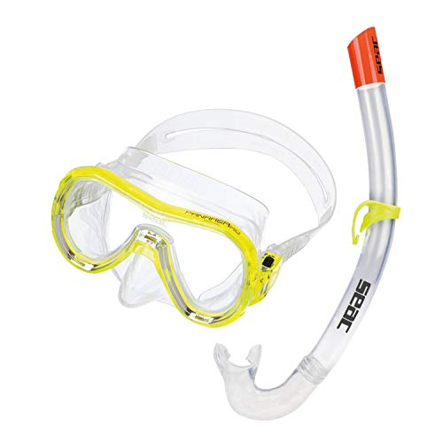 Seac Set Panarea, Kit snorkeling pour adulte avec masque et tuba