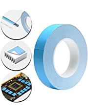 Cinta Adhesiva Almohadilla Pasta Térmica, Adhesiva Térmica Compuesto Pegar Almohadilla Pasta Térmica para Disipadores de Calor IC Chipset LEDs
