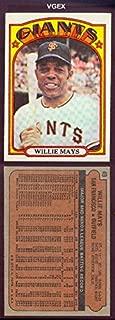 willie mays baseball card 49