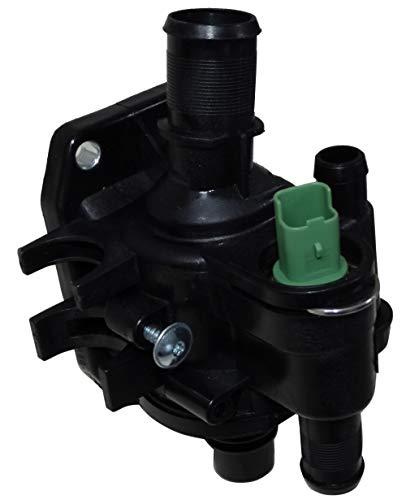 Aerzetix behuizing uitgang motor thermostaat 83 °C koelvloeistof compatibel met OEM 1336.V6 C43331