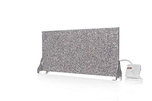 Magma® Naturstein-Infrarotheizung Granit 400 Standversion - Deutscher Hersteller seit 1992 - Magmaheizung mit 10 Jahren Garantie (Granit Grau-Beige)
